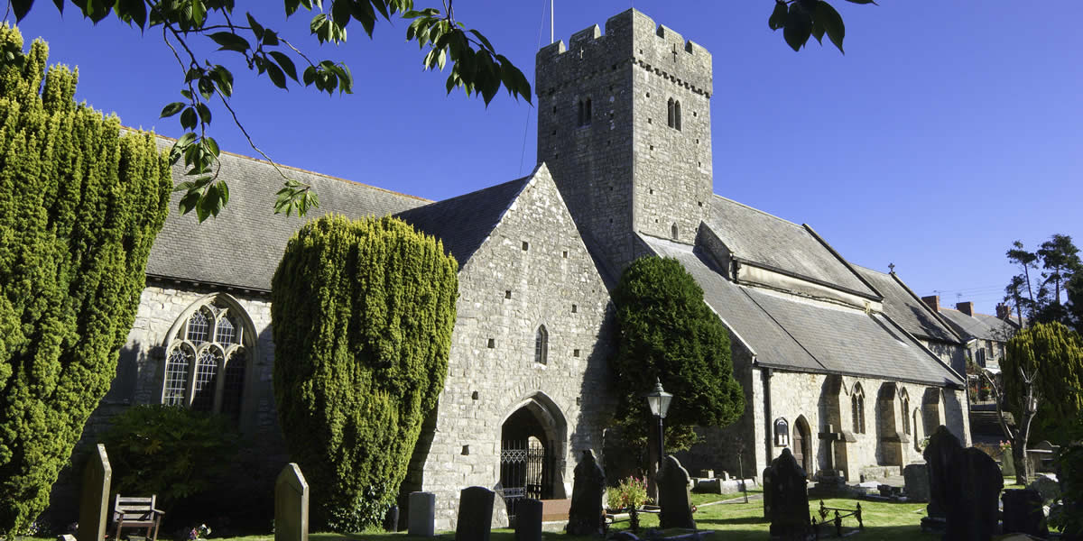 Llanilltud Church, close to Hide St Donats